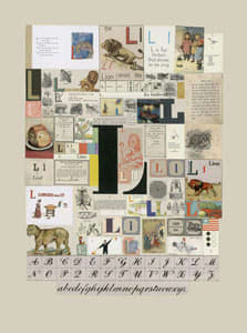 Peter Blake The Letter L, 2007 Silkscreen, embossing and glaze on Somerset satin 300gsm Signed and numbered 52 x 37.5 cm Edition of 60