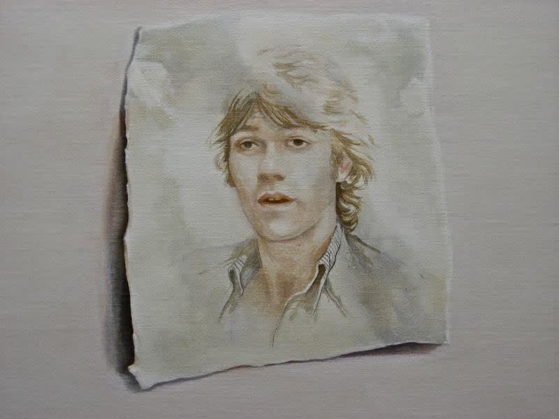 Grace O'Connor Robbie, 2009 Oil on Linen 30.5 x 30.5 cm 12 x 12 in