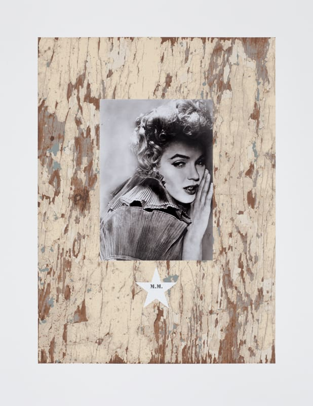 Peter Blake M.M., 2010 Silkscreen with photo collage and Diamond Dust. Signed and numbered by the artist. 75 cm x 58 cm Edition of 100