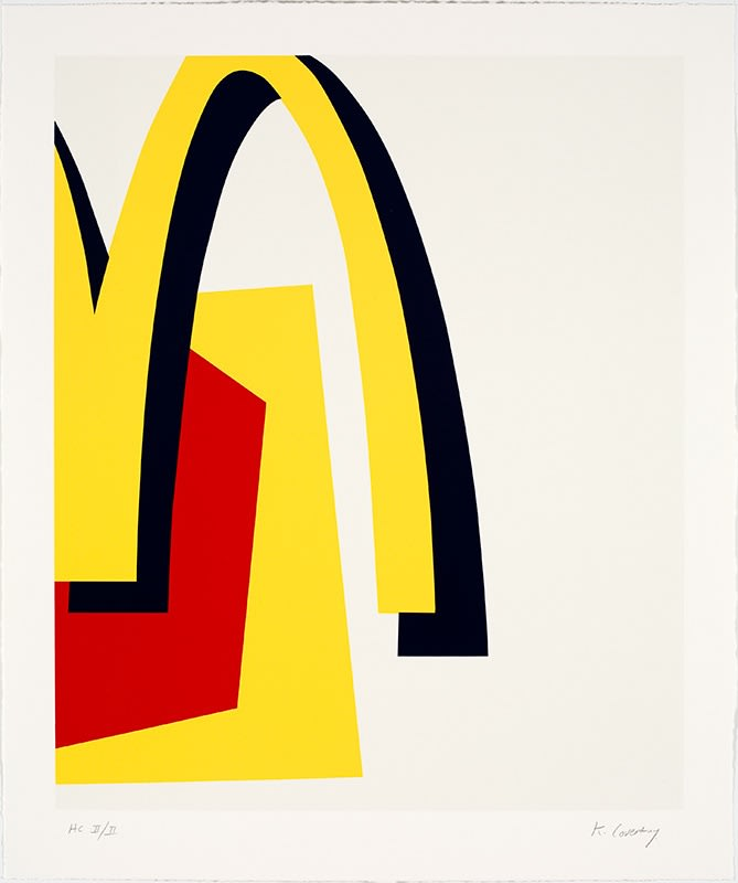 Keith Coventry Junk I, 2008 Silkscreen on Arches 300gsm Signed and numbered. 71.4 x 59 cm Edition of 50