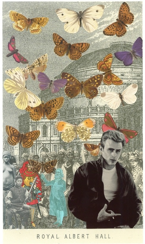Peter Blake James Dean at the Albert Hall, 2012 Lenticular - Digital printing on PETG plastic. Signed and numbered by artist. 67 x 39.5 cm Edition of 100