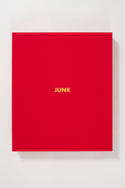Keith Coventry Junk portfolio, 2014 Set of nine prints. 1-5: Etching on Somerset White 300gsm and mounted in museum archival board. 6-9: Lithograph on Somerset White 300gsm and mounted in museum archival board. Edition of 25 + 6 APs. Signed, numbered and mounted Editions 1-10 sold only as portfolios Each: Sheet size: 51.4 x 45 cm Each Sheet size 20.2 x 17.7 in Edition of 25 plus 6 artist's proofs