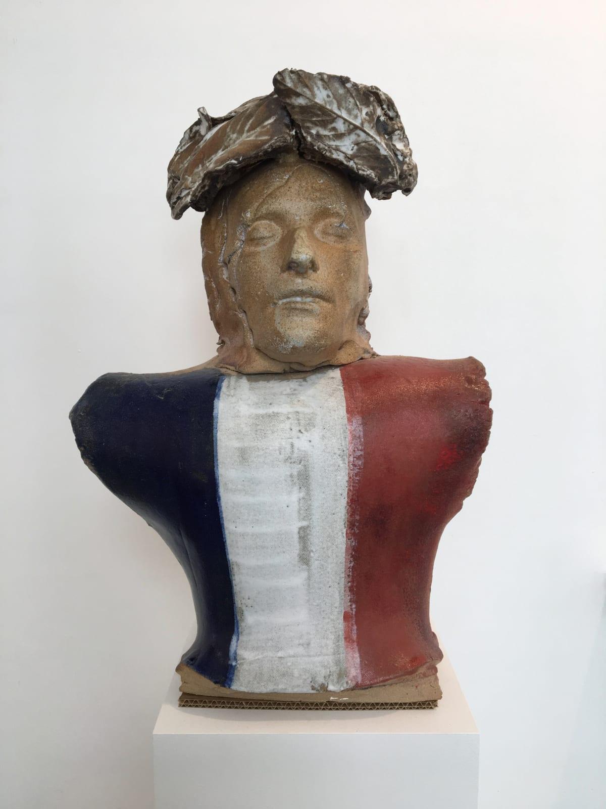 Marcus Harvey Napoleon Nobilis, 2018 Glazed stoneware 60 x 42 x 23 cm