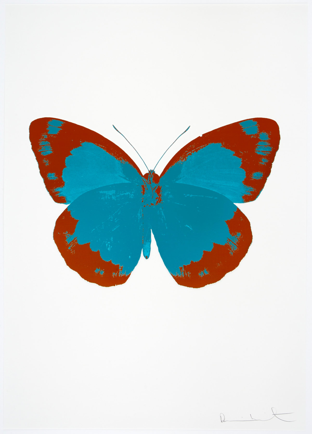 Damien Hirst The Souls II - Topaz/Prairie Copper/Blind Impression, 2010 2 colour foil block on 300gsm Arches 88 archival paper. Signed and numbered. Published by Paul Stolper and Other Criteria 72 x 51cm OC7830 / 658-13 Edition of 15