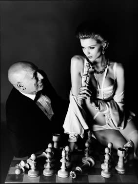 David Bailey Checkmate, 2010 IIford Galerie Cold Fiber Silk 77 x 61 cm Edition of 20