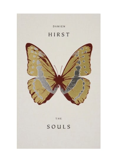 Damien Hirst The Souls, 2011 Hardcover Book Published by Paul Stolper and Other Criteria. 26 x 16 x 3.2cm /Paper size 25.5 x 15.5cm ISBN: 978-1-906967-52-9