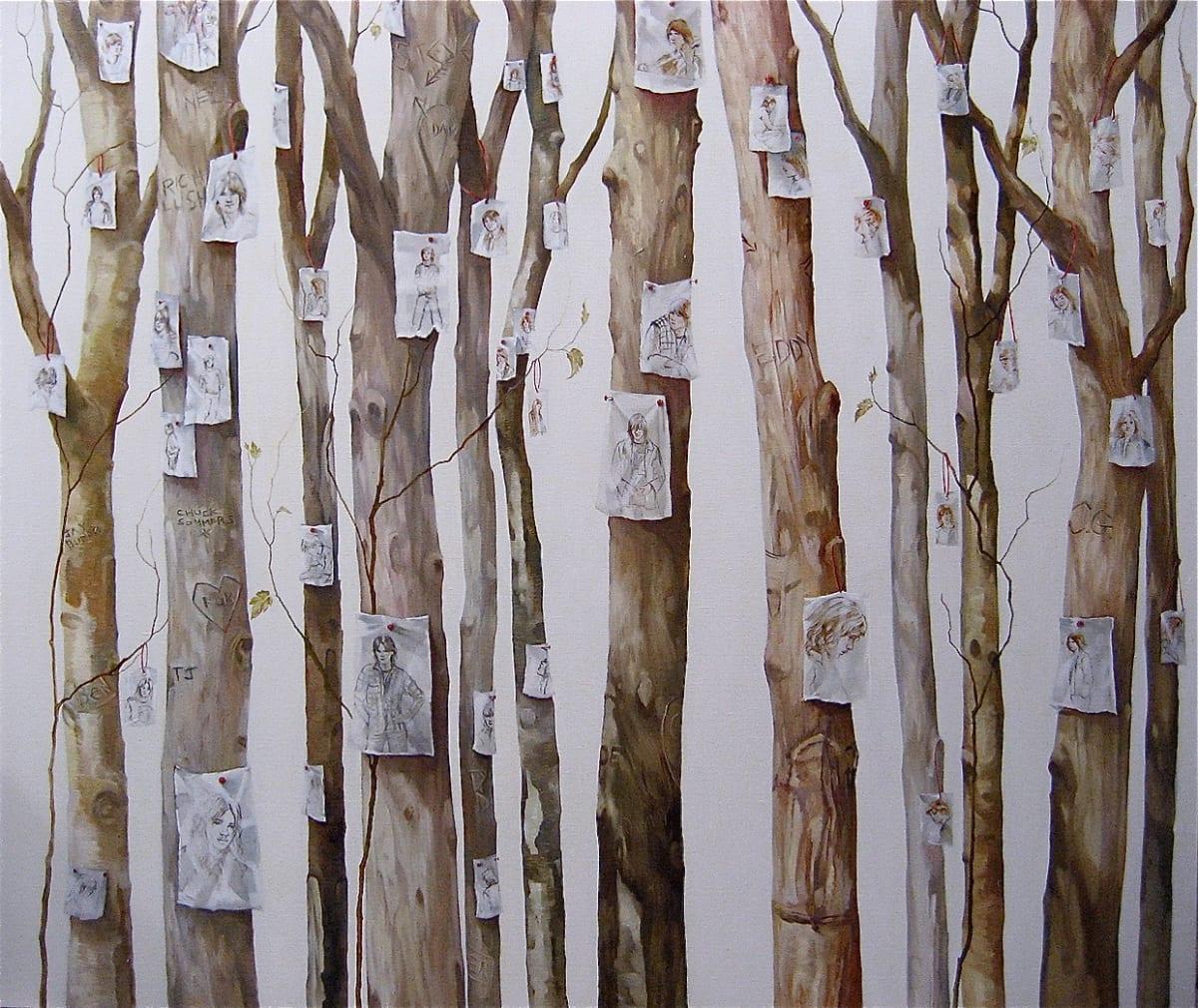 Grace O'Connor Devotion, 2009 Oil on Linen 122 x 137 cm 48 x 53.9 in