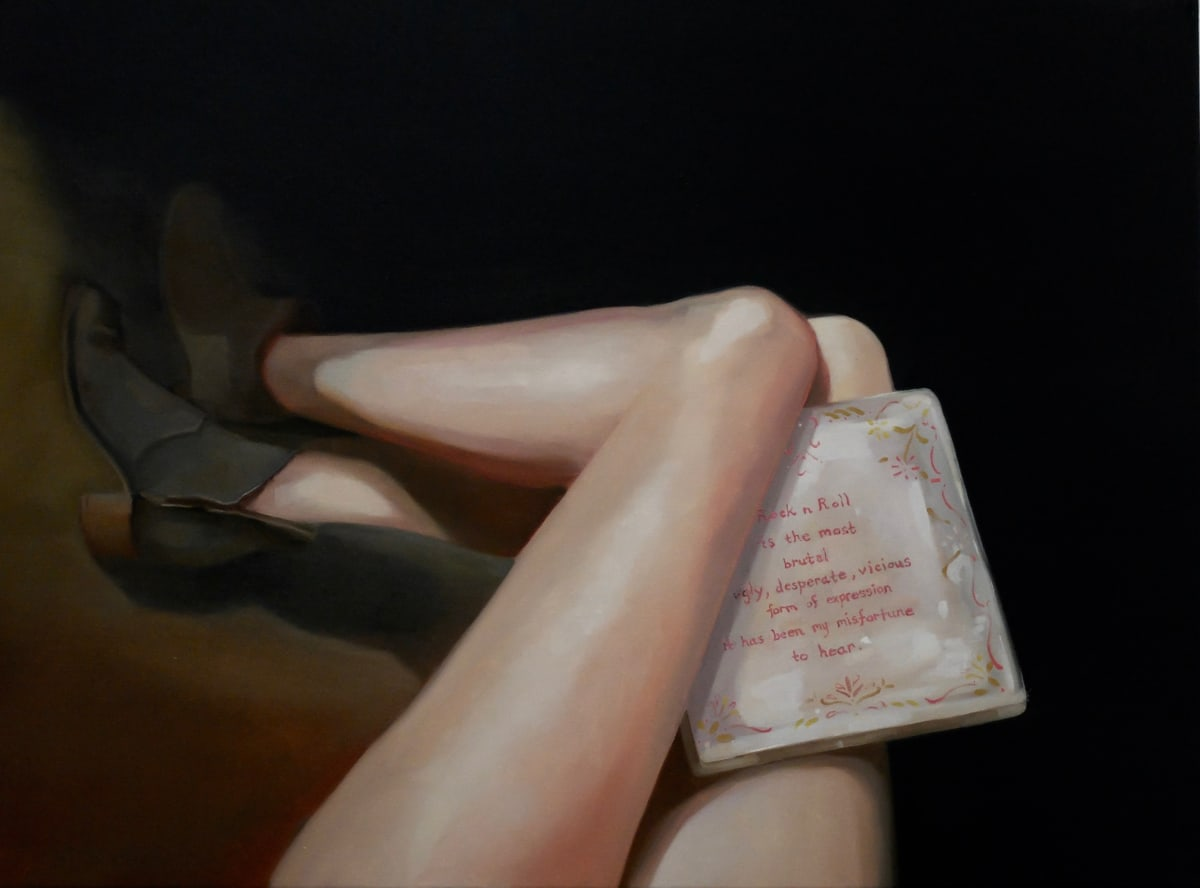 Grace O'Connor Sinatra, 2015 Oil on canvas. Signed on verso 51 x 61 cm