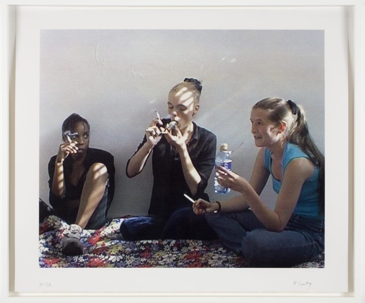 Keith Coventry Crack Girls III, 2008 Silkscreen on Somerset 310gsm Signed and numbered 59.5 x 70 cm Edition of 50