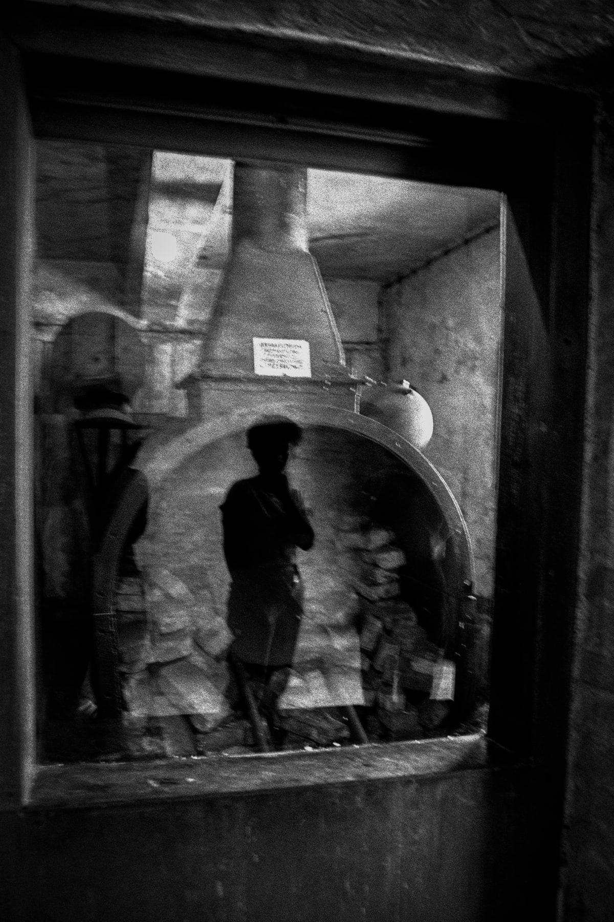 """Judy Glickman Lauder Crematory oven, Auschwitz extermination camp, Poland, 2018 Archival Pigment print 18 x 22"""""""