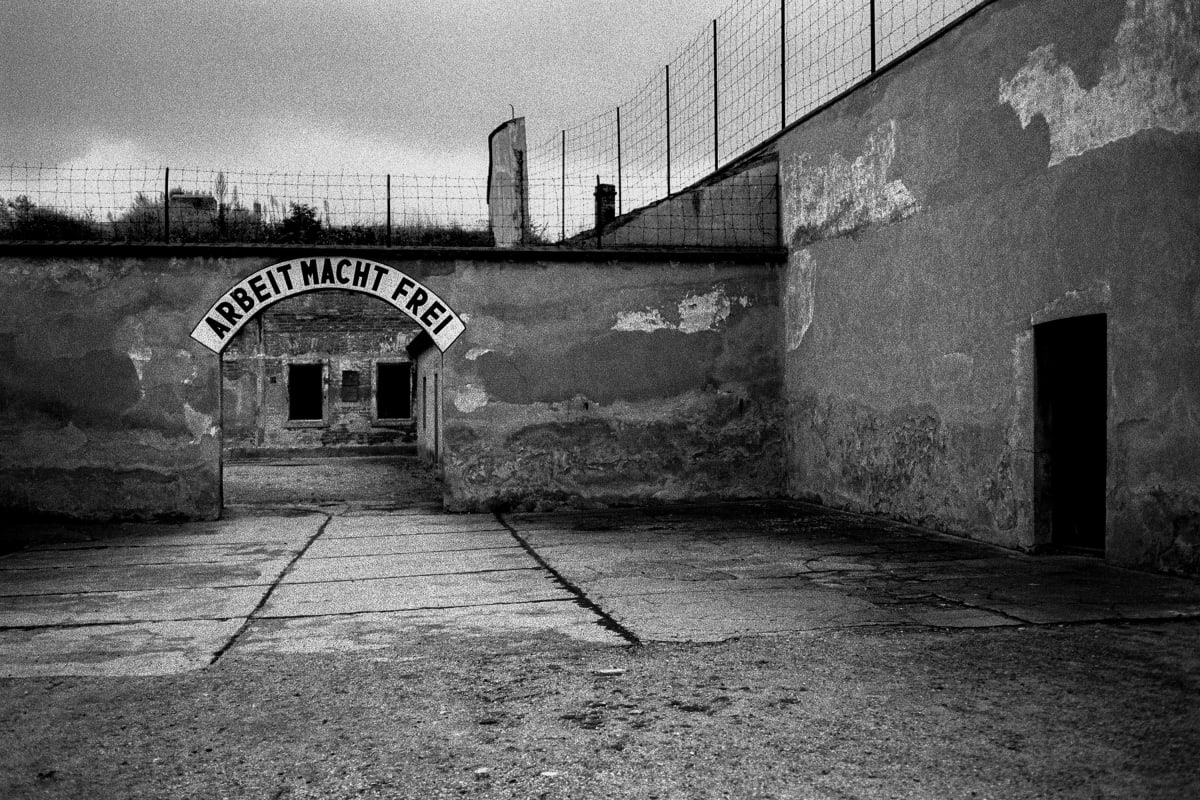Judy Glickman Lauder Theresienstadt concentration camp, Czech, 2018 Archival Pigment print 18 x 22""