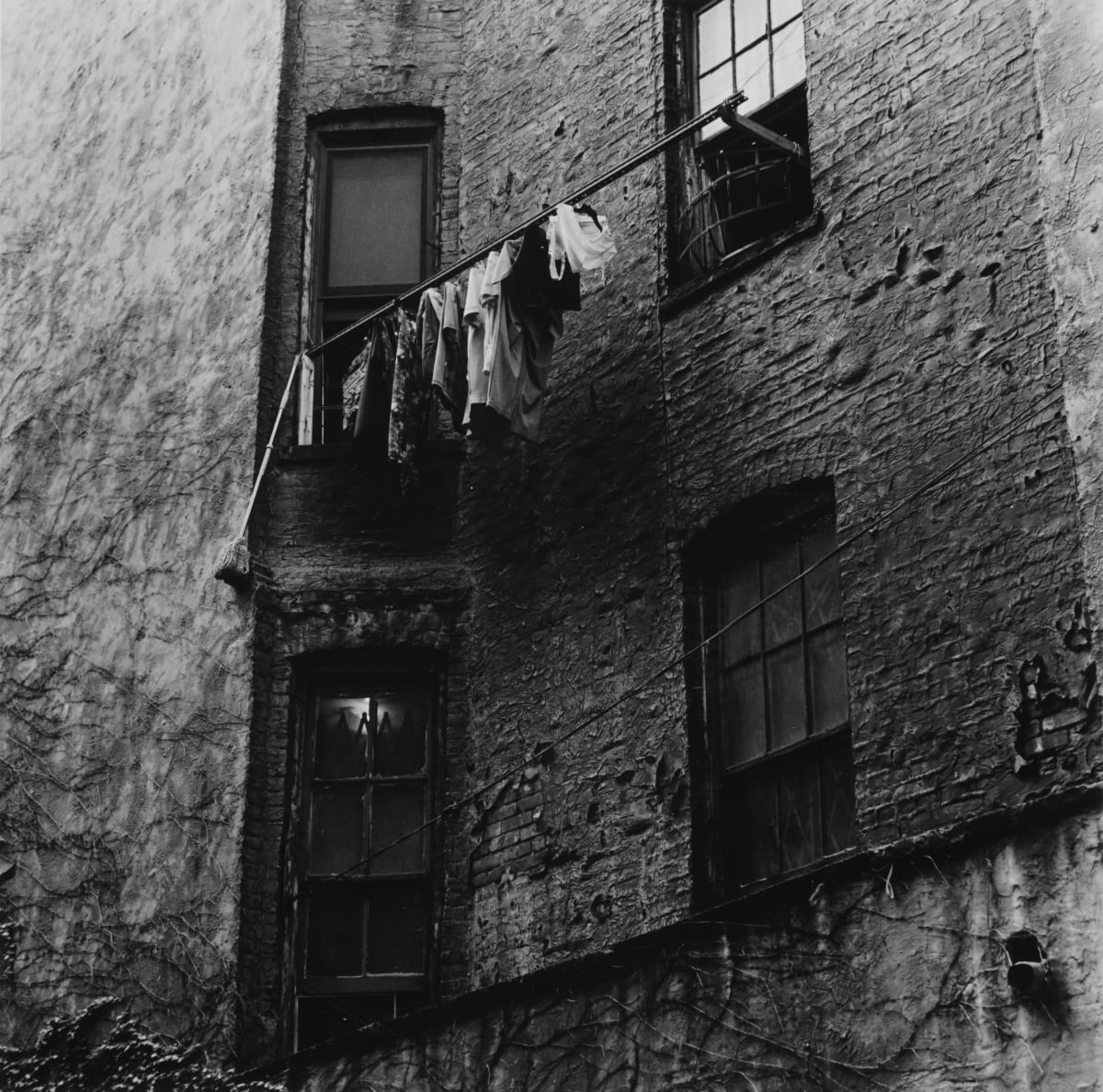 "Ernesto Esquer Chinatown, Manhattan, NYC, 2018, printed 2019 Gelatin Silver print Image 6.5 x 7"", paper 8 x 10"", mat 11 x 14"" 1/20"