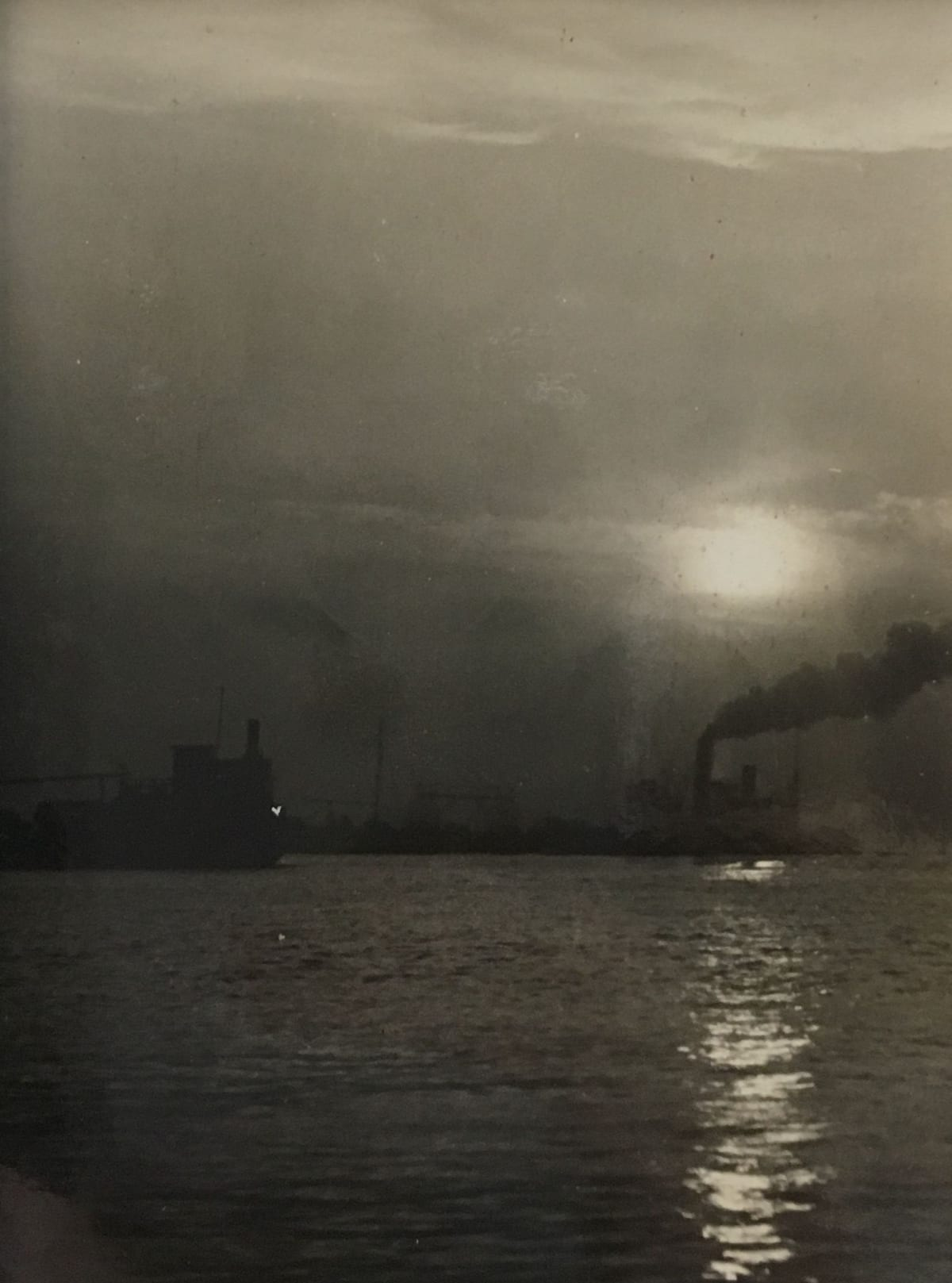 Fred Zinnemann Untitled [steamboat], n.d. Vintage gelatin silver print 3 1/2 x 2 5/8 inches