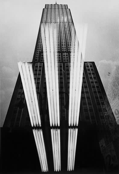 Charles Harbutt Empire State Building, New York, 1970, printed later Gelatin Silver Print Paper 20 x 16 inches; Image 18 x 12 inches; Frame 21 x 25 inches