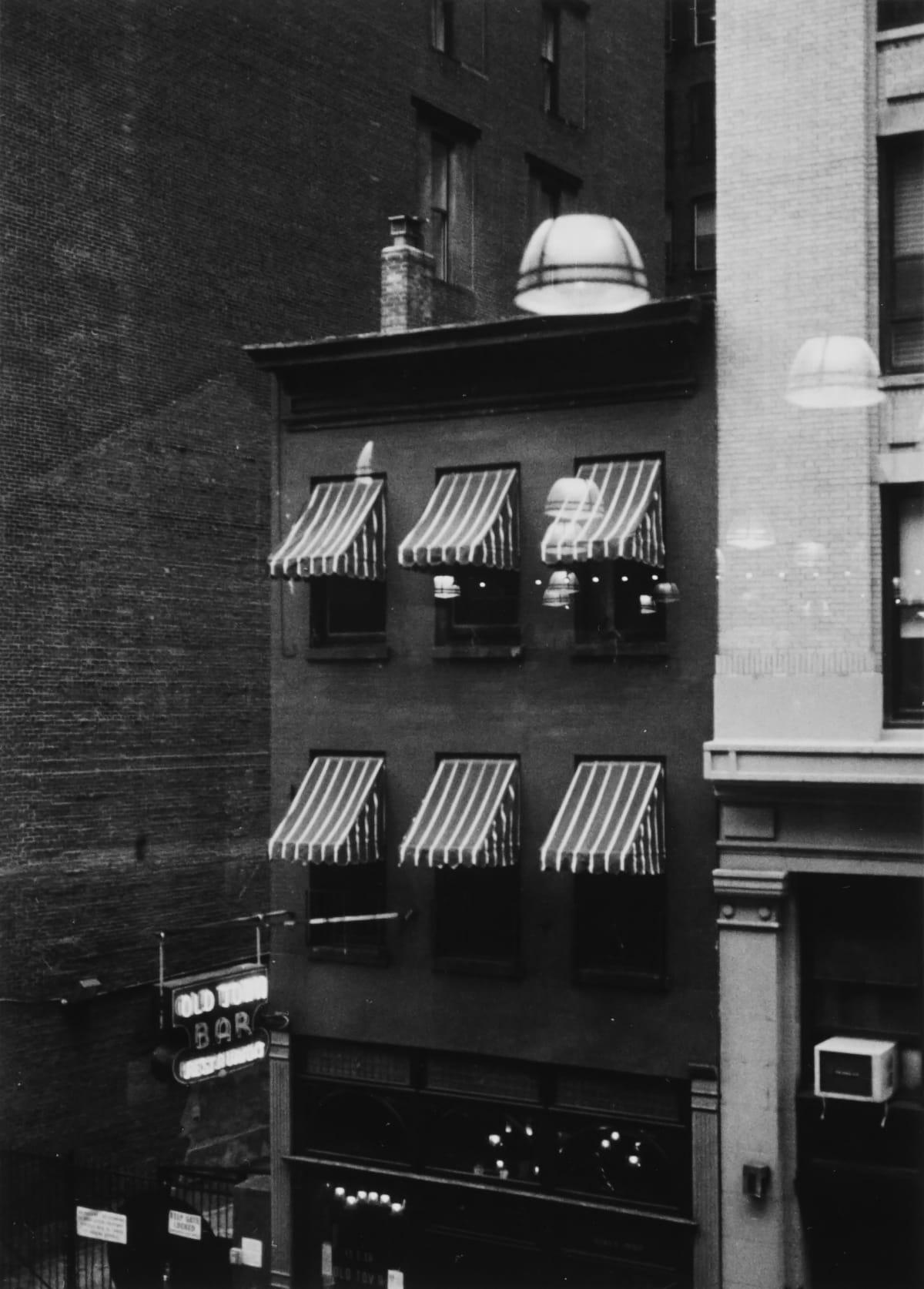 "Ernesto Esquer 18th Street, Manhattan, 2018, printed 2019 Gelatin Silver print Image 5.5 x 4"", paper 8 x 10"", mat 11 x 14"" 1/20"