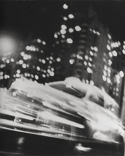 Ted Croner Taxi, New York At Night, 1947-48/Printed Later Gelatin silver print, Print #63 20 x 16 inches Edition 40