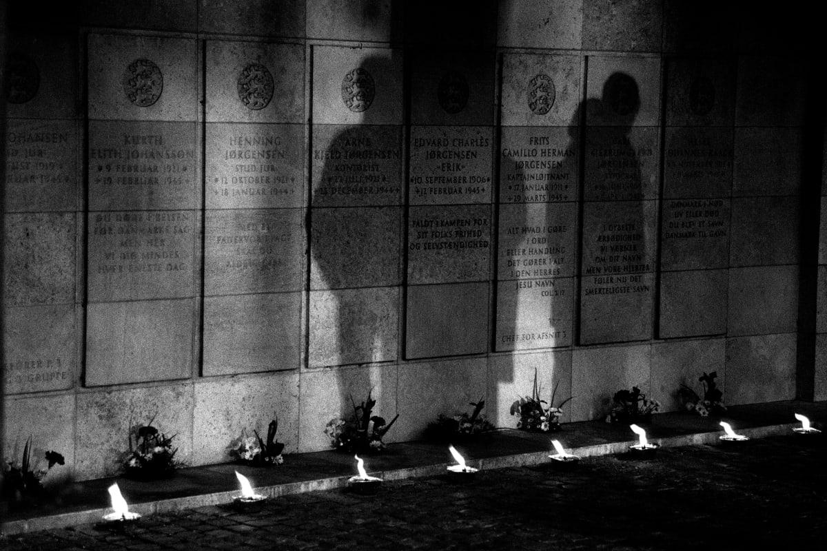 "Judy Glickman Lauder Resistance Memorial, Ryvangen Memorial Park, Hellerup, Denmark, 2018 Archival Pigment print 18 x 22"""