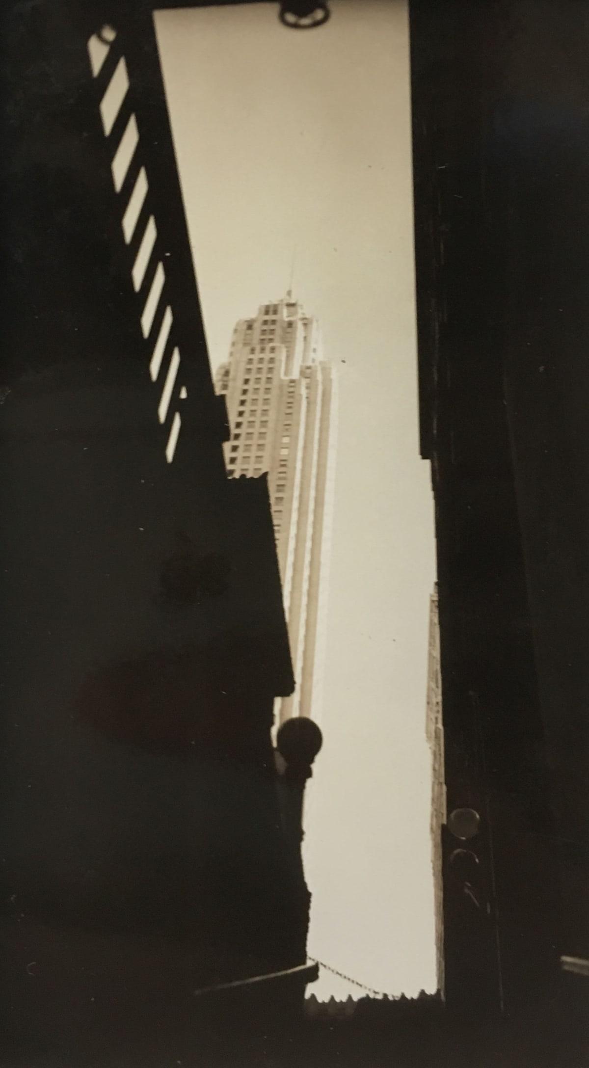Fred Zinnemann Empire State Building, 1932 Vintage gelatin silver print 4 1/8 x 2 3/8 inches