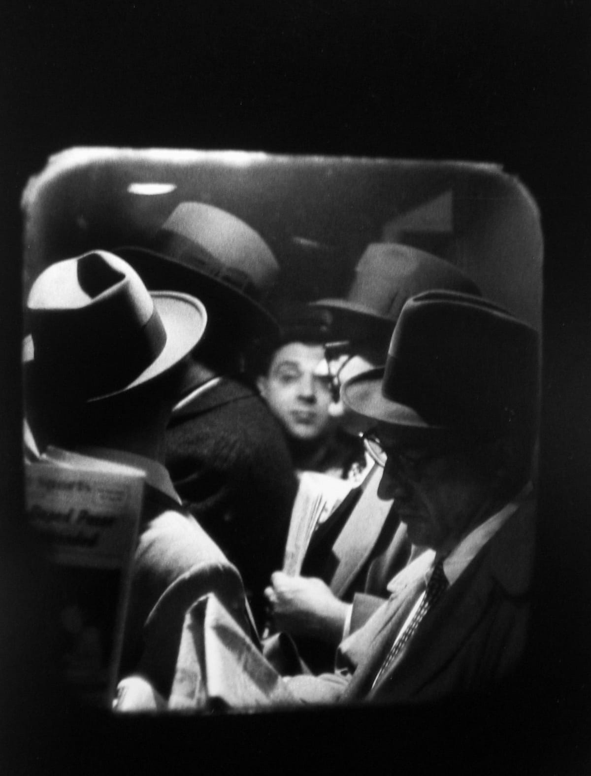 Louis Stettner Odd Man In, 1958 Gelatin silver print 14 x 11 inches