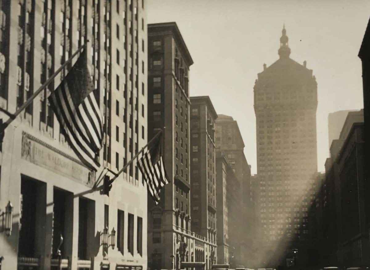 Fred Zinnemann New York, 1931 Gelatin silver print 3 1/4 x 4 1/4 inches