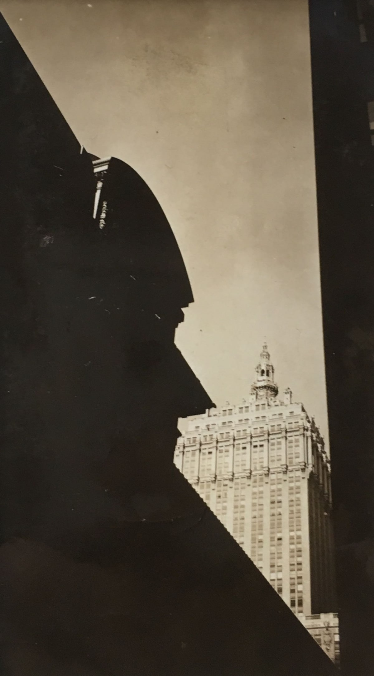 Fred Zinnemann Grand Central Terminal Building, 1932 Vintage gelatin silver print 4 1/4 x 2 3/8 inches
