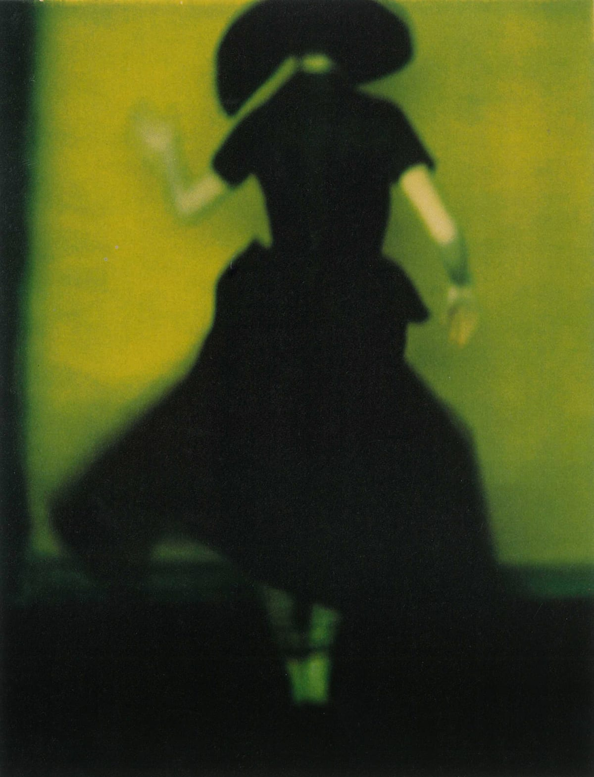 Sarah Moon Fashion 9, Yohji Yamamoto, 1997 Fresson Print Image Dimensions: 17 x 22 inches Paper Dimensions: 22 x 29 inches Matted Dimensions: 24 x 30 inches Edition 13 of 15