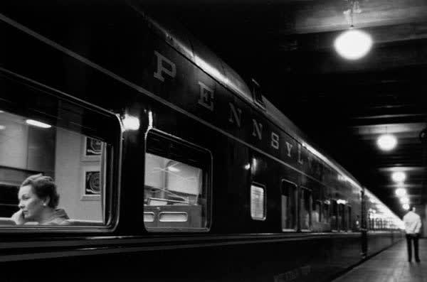 Louis Stettner Six Lights, Penn Station, 1958/Printed Later Gelatin Silver Print 16 x 20 inches