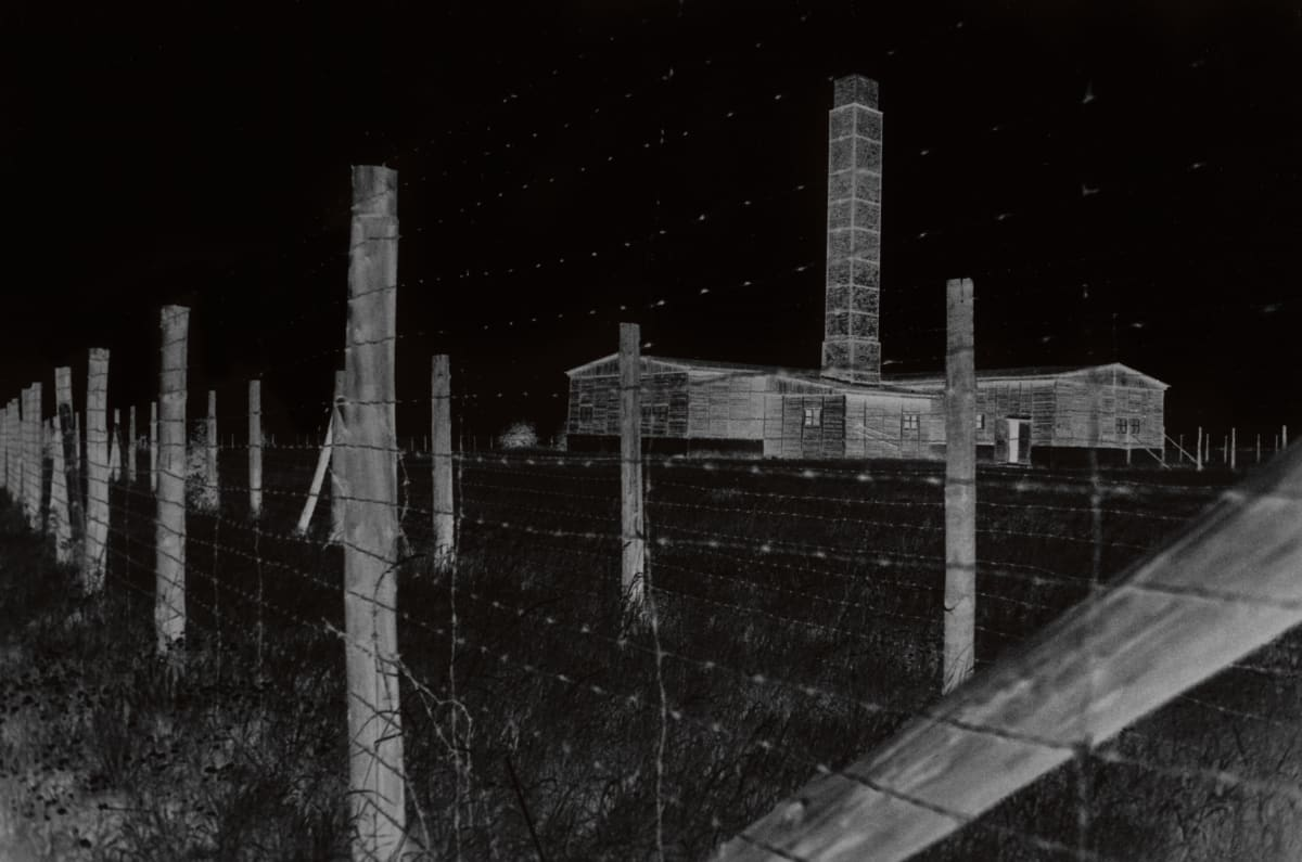 "Judy Glickman Lauder Majdanek extermination camp, Poland, 2018 Archival Pigment print 18 x 22"""