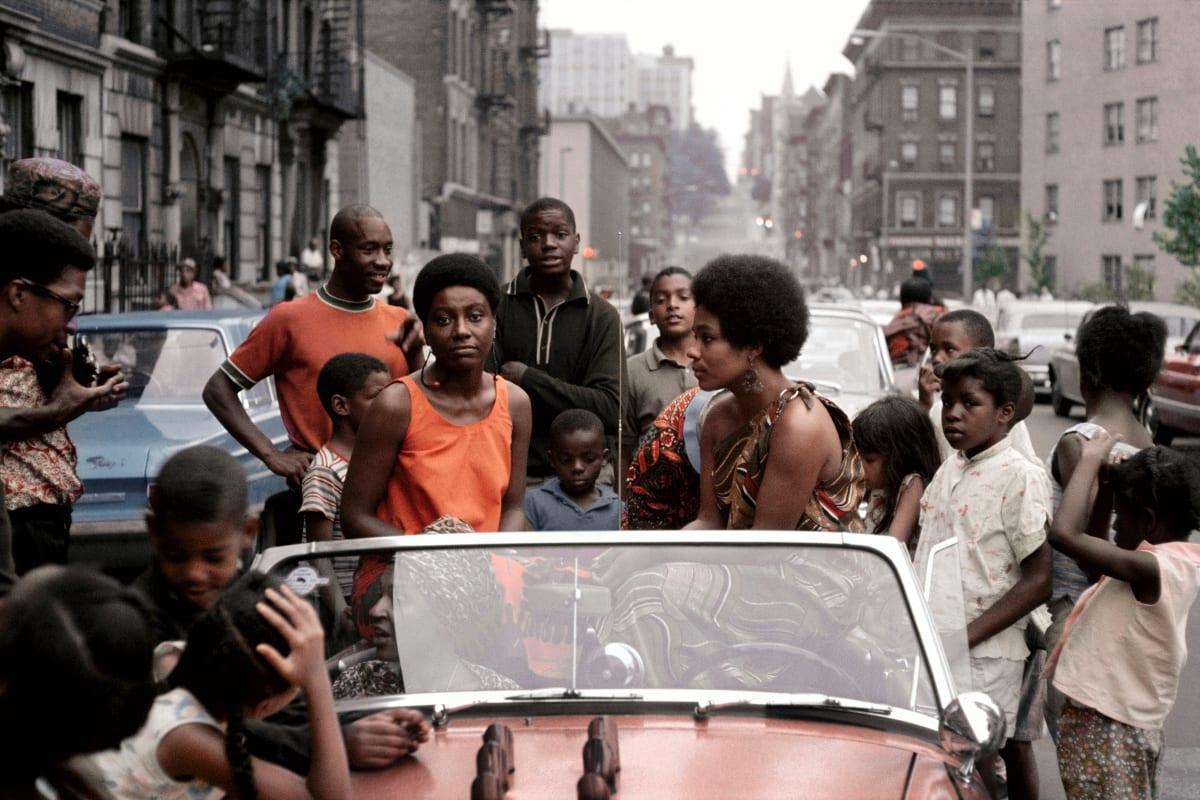 Kwame Brathwaite, Untitled (Garvey Day Deedee in Car), 1965 c., printed 2018