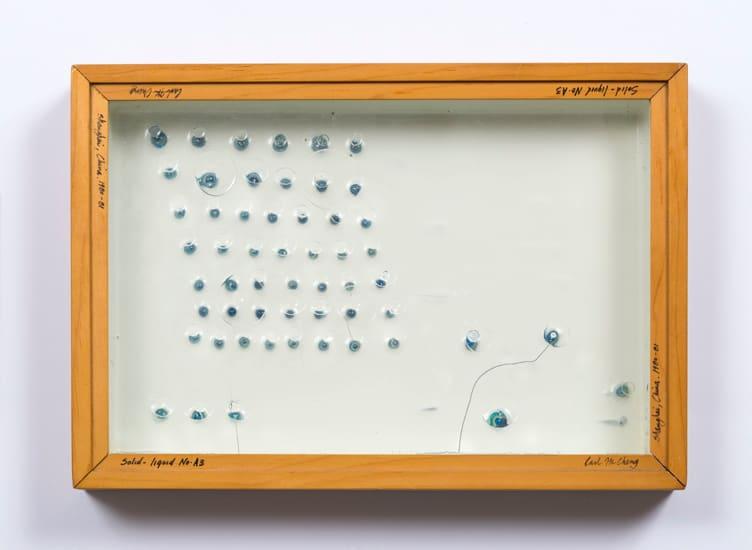 Carl Cheng, Liquid/Solid Series: Solid - liquid No. A3, 1980-81