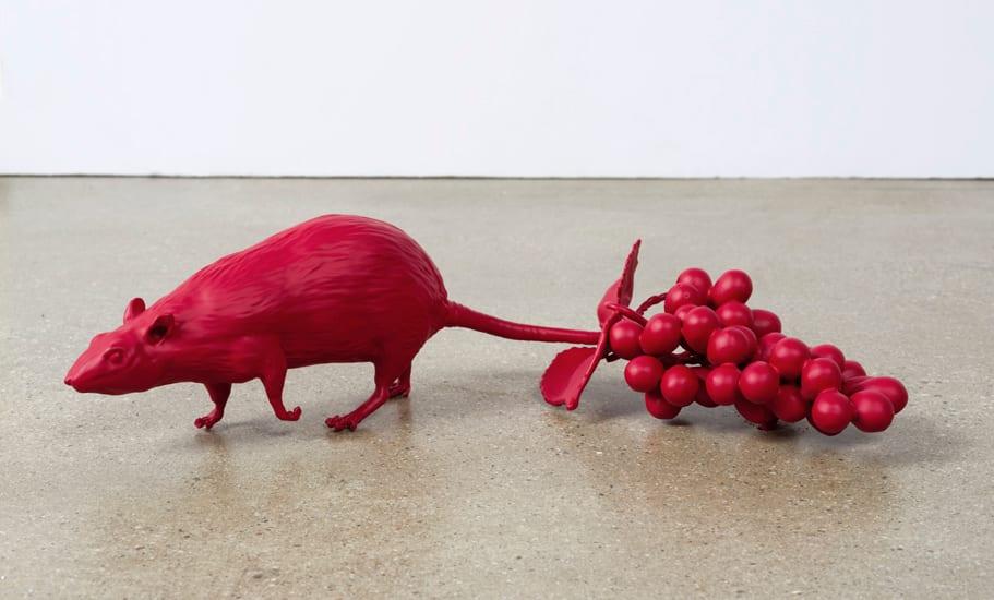 Nathan Mabry, Low Hanging Fruit (Tar/MR), 2016