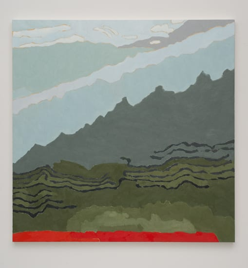 Holly Coulis, Landscape with Red, 2011