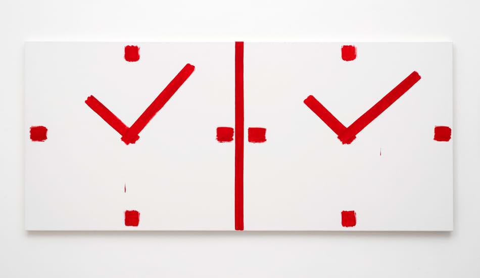Bernard Piffaretti, Untitled, 2015