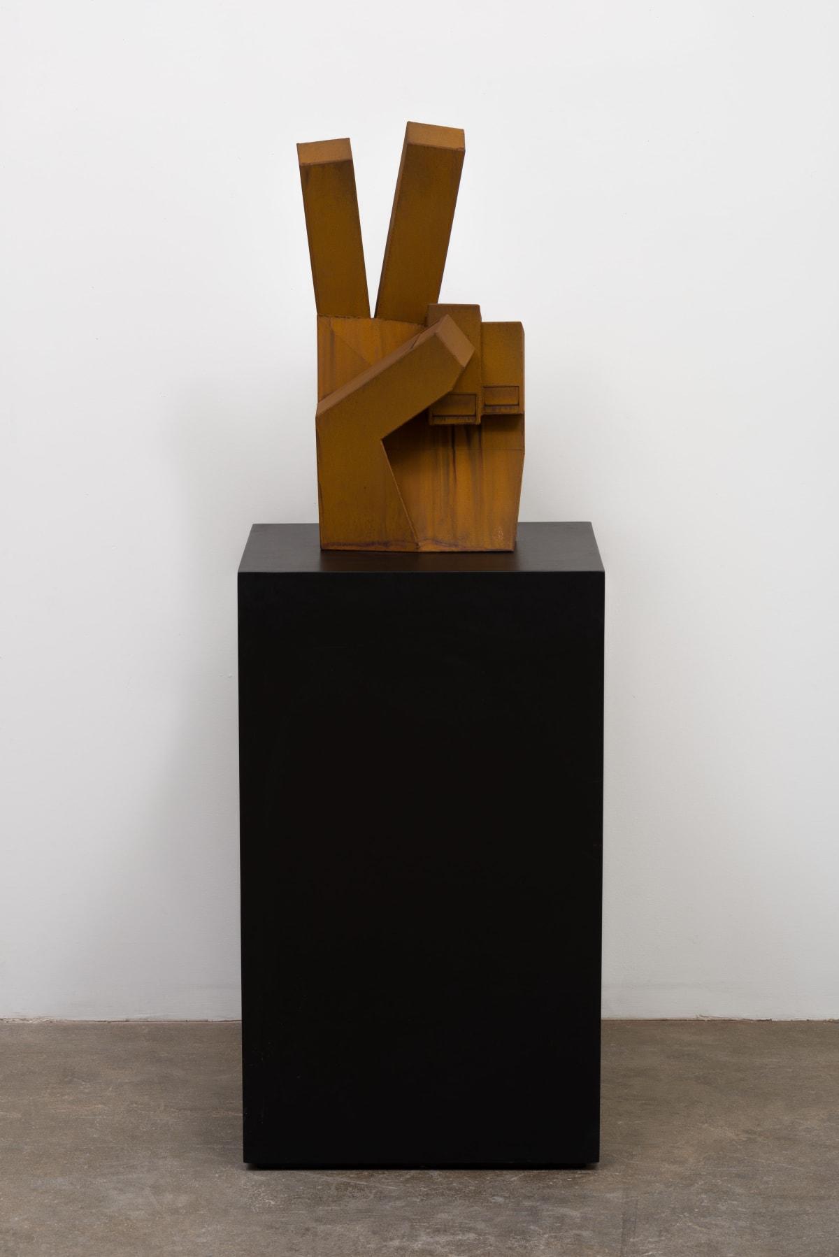 Nathan Mabry, Heavy Handed (Symbol), 2018