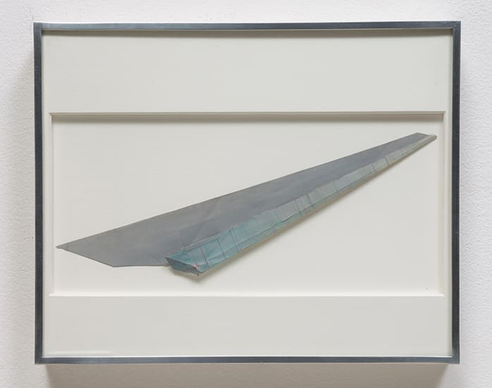 Robert Overby, Study for Aluminum Piece (187), 1969