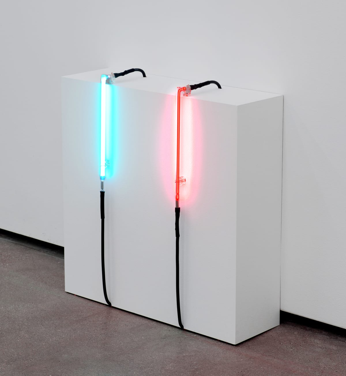 Robert Overby, Neon Test 2 and Neon Test 3, 1971 c.