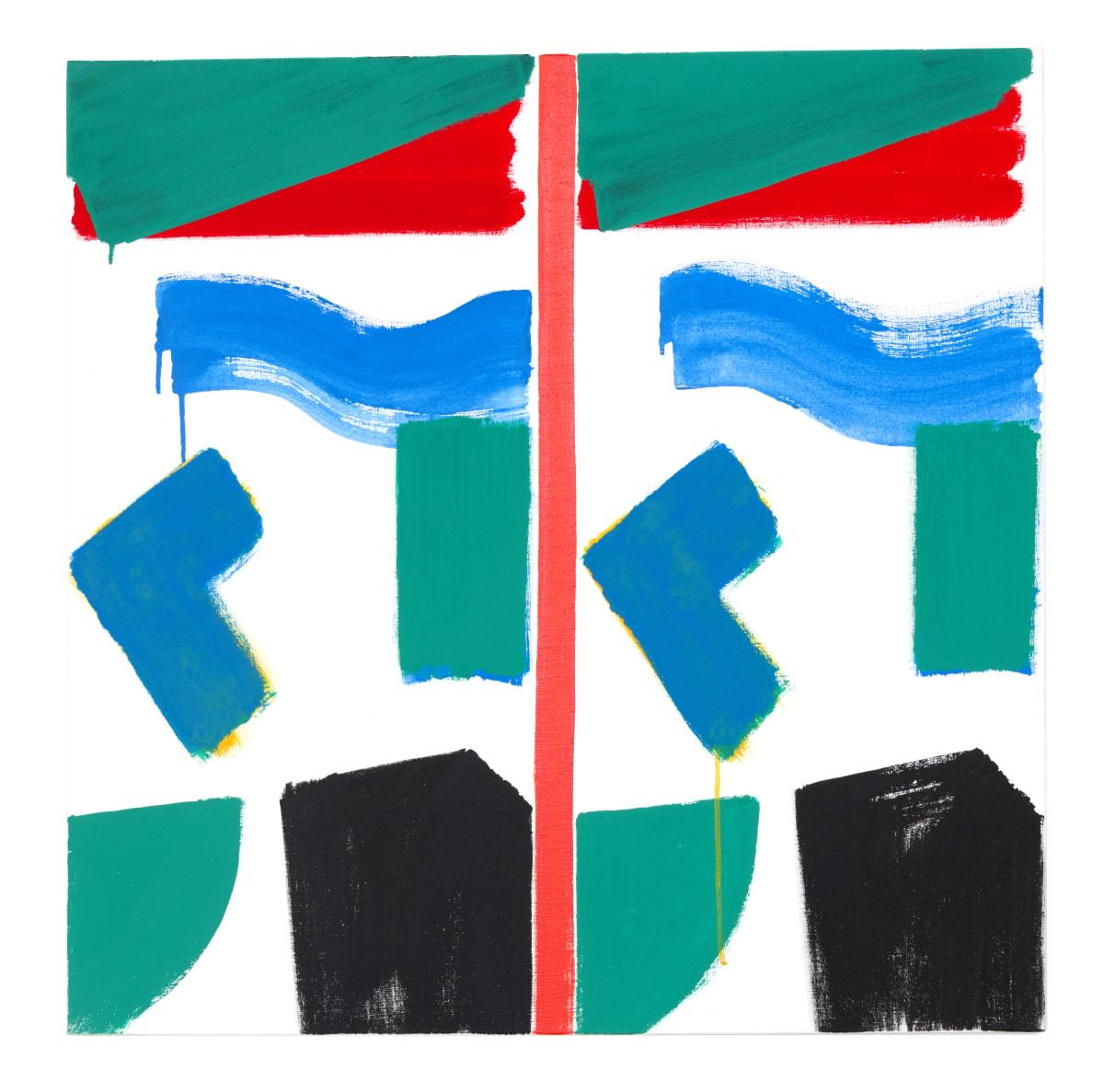 Bernard Piffaretti, Sans titre, 2017