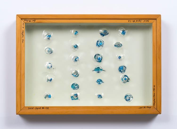 Carl Cheng, Liquid/Solid Series: Solid - liquid No. C2, 1980