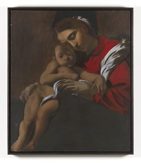 Robert Overby, Squashed Madonna (Caracciolo copy), 1973