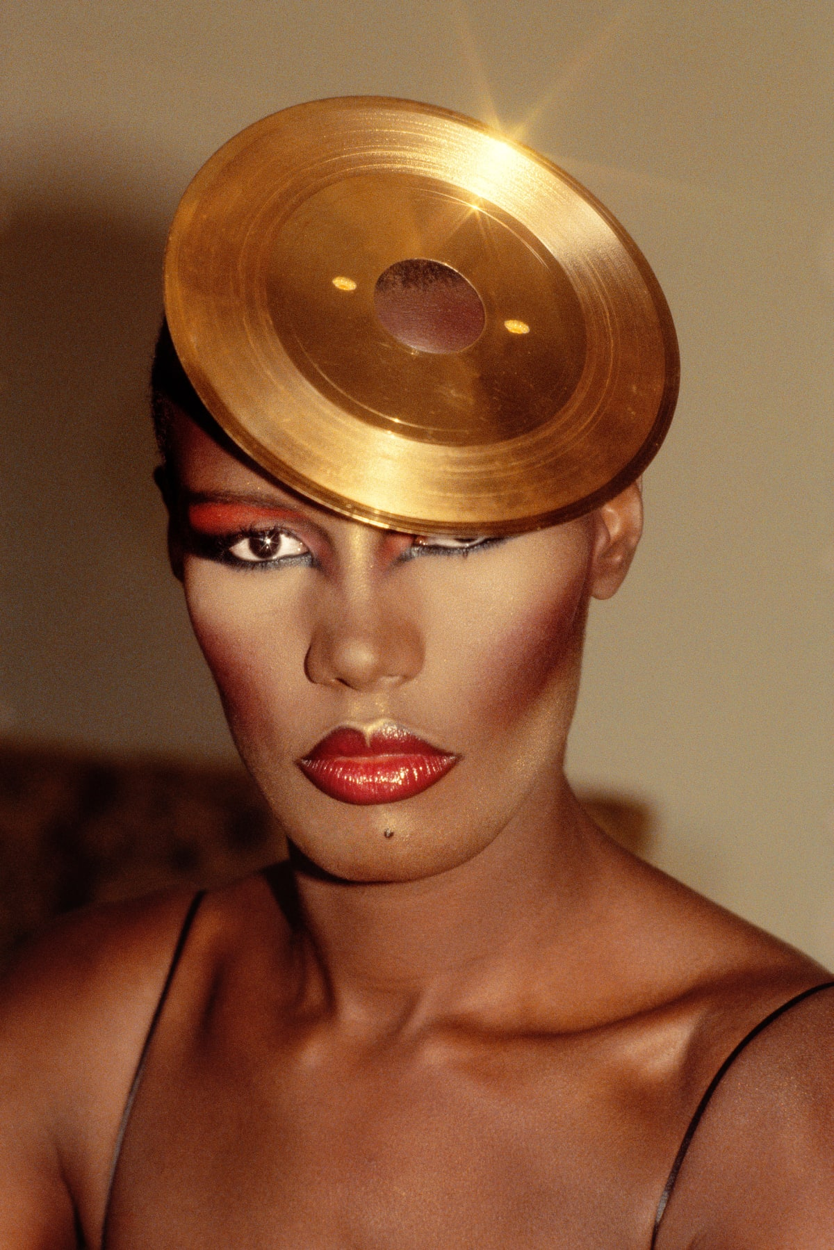 Kwame Brathwaite, Untitled (Grace Jones Photoshoot), 1980s c., printed 2018