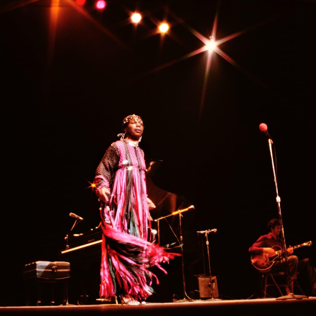 Kwame Brathwaite, Untitled (Nina Simone at Beacon Theater), 1974 c., printed 2018