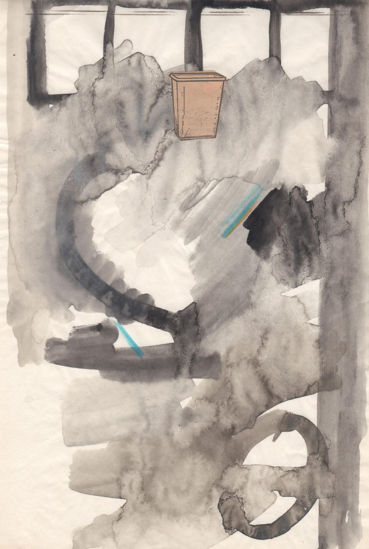 Pat O'Neill, Sketches on Manifold Paper 10, 1980