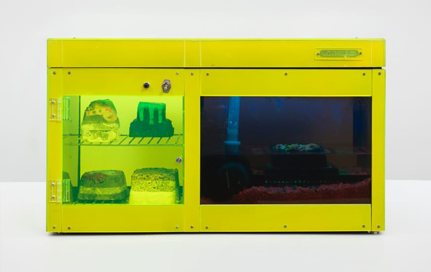 Carl Cheng, Erosion Machine No. 2, 1969