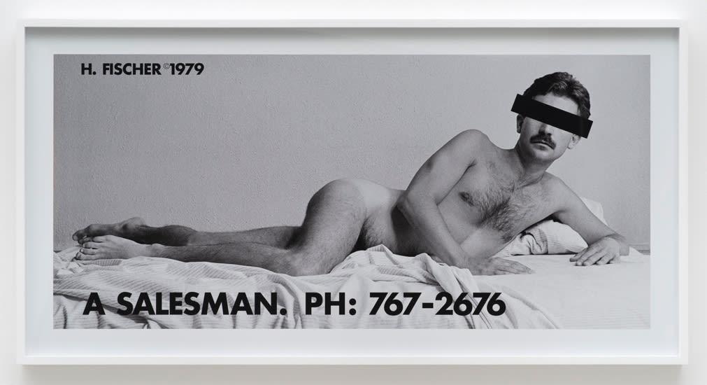 Hal Fischer, A Salesman, 1979/2015