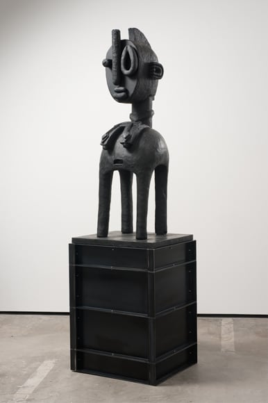 Nathan Mabry, Tête de Femme (Plump), 2011