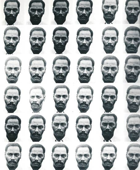 Lew Thomas, PORTRAIT EQUALS 36 EXPOSURES, 1972/2015