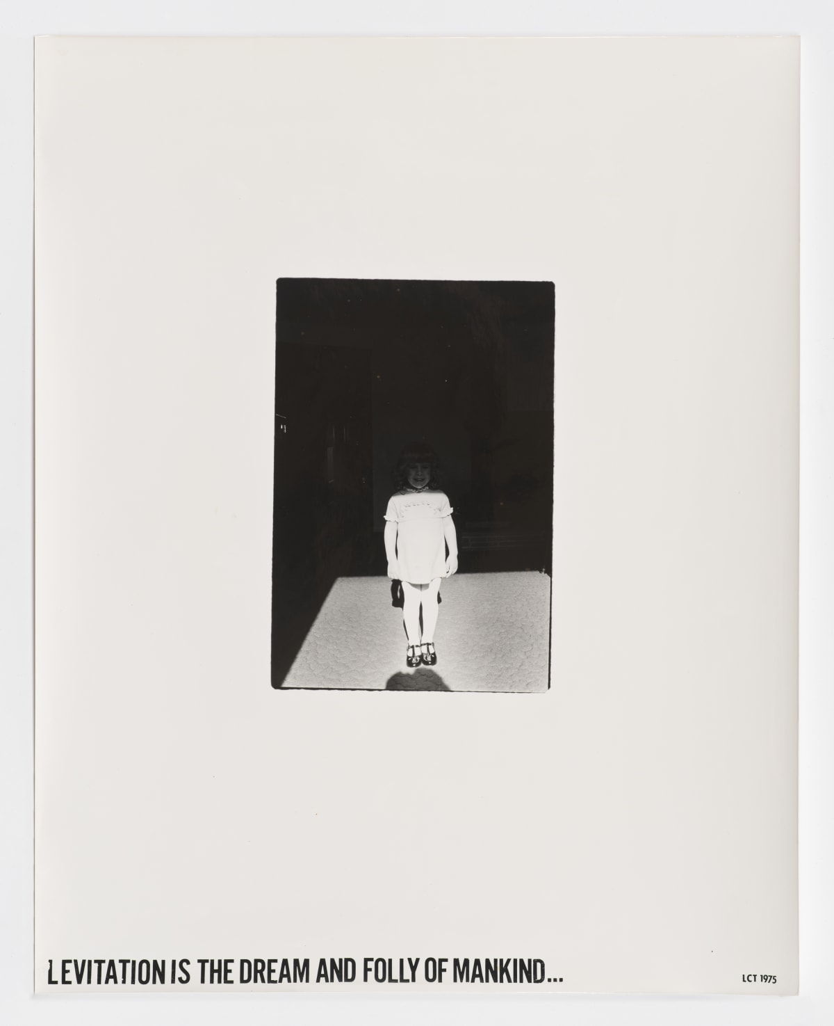 Lew Thomas, LEVITATION IS THE DREAM AND FOLLY OF MANKIND, 1975
