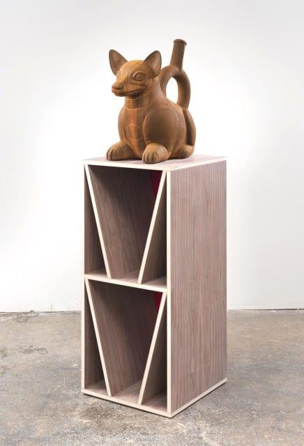 Nathan Mabry, T/O/T/E/M (...dog eat dog...), 2014
