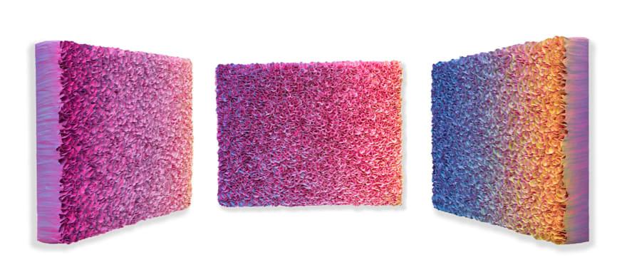 Zhuang Hong Yi, Flowerbed Colour Change #B19-36, 2019