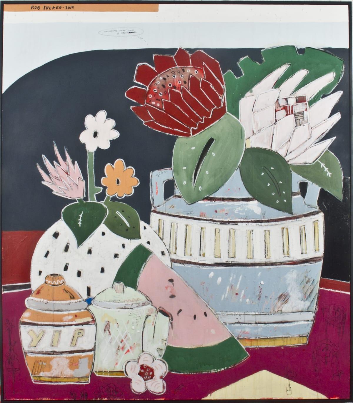 Rob Tucker, Pomegranate, Rocket Salads are Tasty, 2019